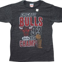 NBA Chicago Bulls 1993 Champions T-Shirt by Junk Food