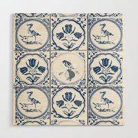 On the Tiles Wood Wall Art by anipani