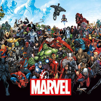 Marvel - The Lineup 15 Wall Poster 22x34 RP14133 UPC882663041336