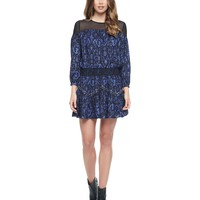 Pitch Black Cupid Cupid Scroll Studded Dress by Juicy Couture,