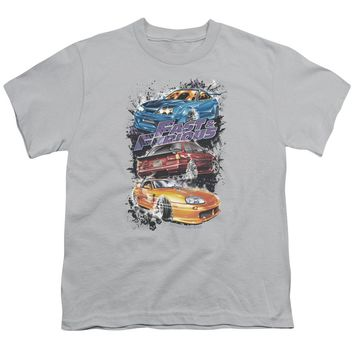 Fast And The Furious - Smokin Street Cars Short Sleeve Youth 18/1