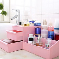 Makeup Organizer Storage Box Cosmetic Organizer Makeup Storage Drawers Jewelry Display Box Storage desk organizer