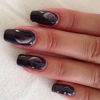 PHASES of the MOON nail decals Feminine MYSTIQUE