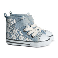 H&M - High Tops - Light denim blue - Kids