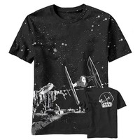 ONETOW Star Wars - Killer Pursuit All-Over Black T-Shirt
