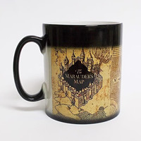 1Pcs Harry Potter Magic Hot Cold Heat Temperature Sensitive Color-Changing Battery Coffee Tea Milk Mug Cup