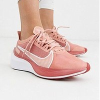 NIKE ZOOM GRAVITY Fashion Women Men Breathable Sport Sneakers Shoes Pink