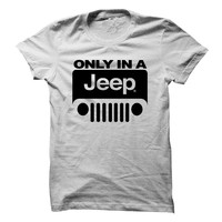 Only in a jeep!