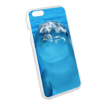 Dolphin Underwater Ocean - Scuba Diving Snap On Hard Protective Case for Apple iPhone 6