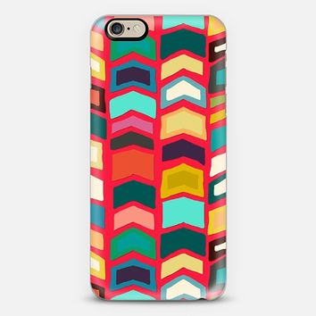 arrow pop red iPhone 6 case by Sharon Turner   Casetify