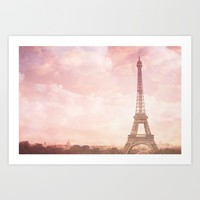 Paris in Pink Art Print by Legends of Darkness Photography