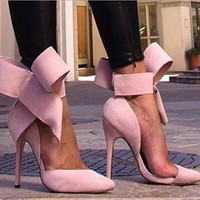 Fashion Butterfly pointed heels