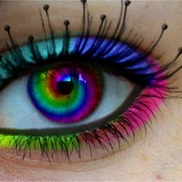 rainbow contacts - Google Search