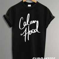 calum hood shirt 5 second of summer t-shirt printed black and white unisex size (CR-10)
