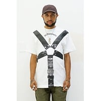 Harness Tee in White