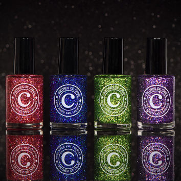 Colores de Carol Limited Edition Exclusives Gift Set (Don Draper, Harvey Specter, Dexter, Gatsby)