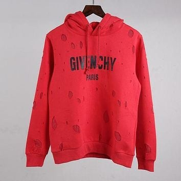 Givenchy Women or Men Fashion Casual Loose Top Sweater