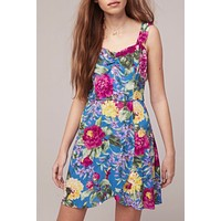 Band of Gypsies Topaz Mini Dress
