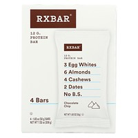 Rxbar - Kids Protein Bar - Chocolate Chip - Case Of 6 - 4/1.83 Oz.