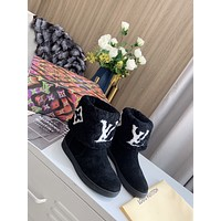 Louis Vuitton LV Snow boots Leather boots Fashionable Leisure Boots Shoes 08622