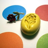 ROSE FLOWER Flexible Mold For Resin Paper Clay Sculpey Chocolate Food Safe Silicone F111