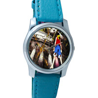 Luffy In Fire | One Piece Wrist Watch