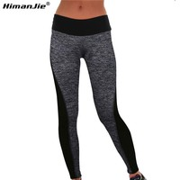 Plus Size Sport Leggings Fitness Yoga Pants Running Tights Sportswear Women Sports Wear Leggings Gym Clothes Jogging Active Wear