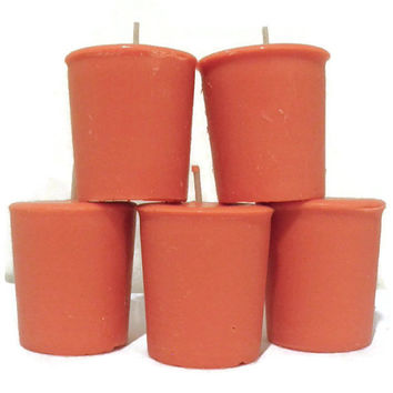 Tutti Fruity Premium soy votive candles, hand poured custom made votives