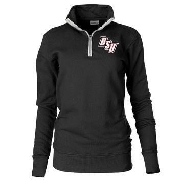Official NCAA Bridgewater State University Bears Unisex Zip Up Fleece Pullover