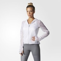 adidas Supernova Run Transparent Jacket - White | adidas US