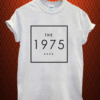 the 1975 shirt Music tee Ash Grey t Shirt Men and Women T Shirt more size available