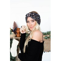 Donner Knit Headwrap - Black