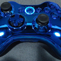 Custom New Xbox 360 Wireless Controller  Chrome by InnovativeGamer