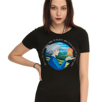 Studio Ghibli Her Universe Howl's Moving Castle Quote Girls T-Shirt