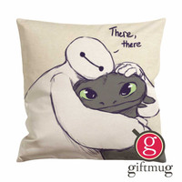 Baymax and Toothless Cushion Case / Pillow Case
