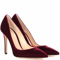 Gianvito 105 velvet pumps