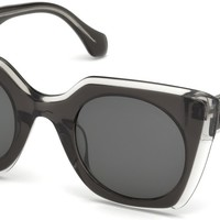 Roberto Cavalli - RC1068 Greve Black Sunglasses / Smoke Lenses