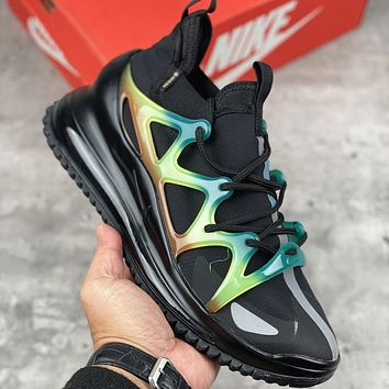 Nike Air Max 720 Horizon Functional Frame Full Palm Air Cushion Running Shoe