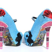 Alice in Wonderland Mary Jane Heels