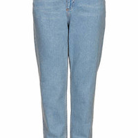MOTO Baby Blue High Waisted Jeans - Baby Blue