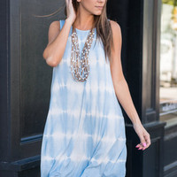Sun And Fun Dress, Light Blue
