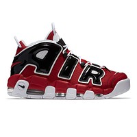 Men's Nike Air More Uptempo '96 Shoe - Red/Black