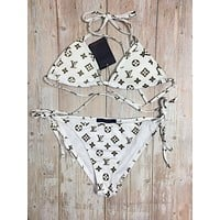 Louis Vuitton LV Halter Triangle Bikini Set