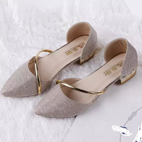 High Quality Pointed Flat Shoes