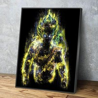 The Ultimate Warrior Canvas Set