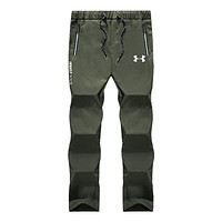 """""""Under Armour"""" Popular Men Casual Print Sport Pants Trousers Sweatpants Army Green I13888-1"""