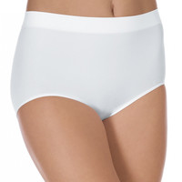 Bali Barely There Comfort Revolution Microfiber Solid Brief by Bali 803J