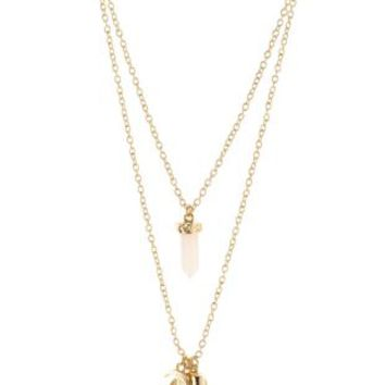 Gold Mystical Layering Necklaces - 2 Pack by Charlotte Russe