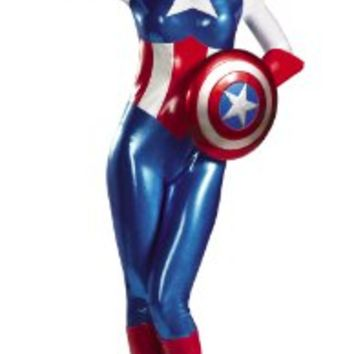 Disguise Marvel Captain America American From Amazon Things I Here are all the different costumes captain marvel has had. disguise marvel captain america american dream bodysuit womens adult costume amazon clothing