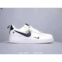 NIKE AIR FORCE 1 Tide brand low men and women models wild  sports shoes #4